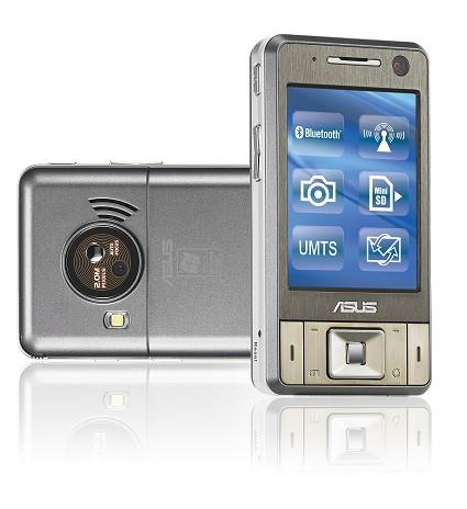 Smartphone ASUS P735 con due webcam, fotocamera, piena compatibilit?á con Office e perfetto per collegarsi ad Internet fuori ufficio.