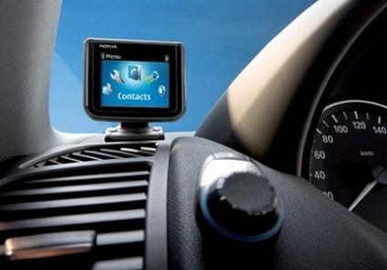 Nokia Bluetooth Display: il Bluetooth arriva in auto attraverso un monitor con numerose funzioni