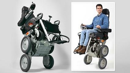 Sedie A Rotelle Per Scale : Ibot concept della nuova sedia a rotelle robotizzata disegnata da