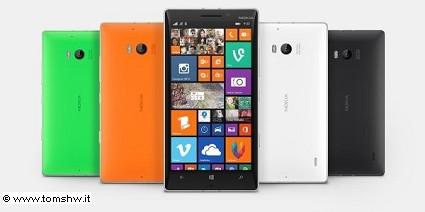 Nuovo Nokia Lumia 930 in vendita in Italia a luglio: caratteristiche tecniche e prezzi