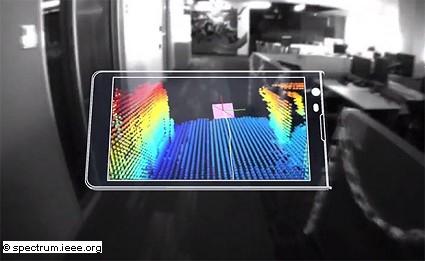 Tango: il nuovo tablet 3D di Google ed Lg. Dal prossimo anno sul mercato. Anticipazioni