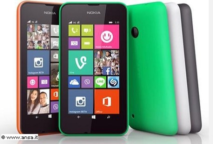 Nuovo smartphone Nokia Lumia 530: caratteristiche tecniche e prezzi