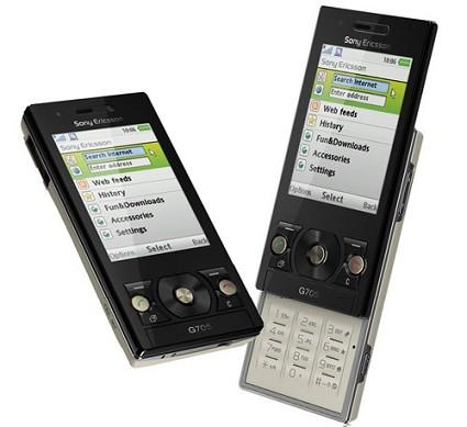 Nuovo cellulare Sony Ericsson G705, lo slider con Wi-Fi, YouTube e Google Maps integrati.