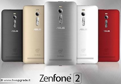Nuovo smartphone Asus ZenFone 2 presentato a Las Vegas: novit?á e caratteristiche tecniche