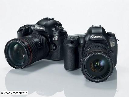Canon 5Ds e 5Ds R: nuove reflex professionali. Le caratteristiche tecniche