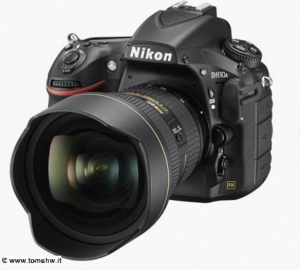 Nikon D810A: nuova fotocamera potente per gli appasionati di foto ai corpi celesti. Le caratteristiche tecniche