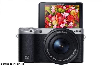 Samsung NX500 nuova fotocamera per i pi?? esperti: caratteristiche tecniche e prezzo