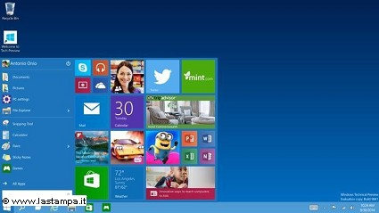 Windows 10: disponibile da oggi 29 luglio nuova versione del sistema operativo Microsoft. Novit?á e dispositivi compatibili