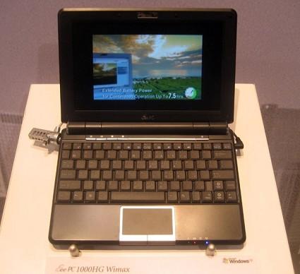 Ces 2009: Asus svela le prime caratteristiche del suo nuovo notebook Eee Pc 100 DN. Anticipazioni,