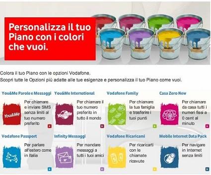 Tutte le nuove offerte Vodafone per cellulari e telefono protagoniste della nuova pubblicit?á dei 1000 colori in tv